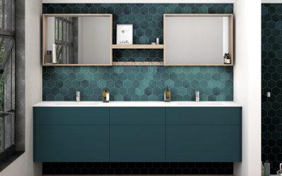 Tyyliä ja käytännöllisyyttä kylpyhuoneeseen